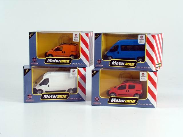 modellino FURGONe ITAliano in scala 1:43 in colori assortiti Macdue Motorama