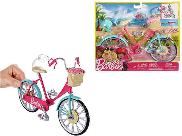 Barbie ბარბის ველოსიპედი